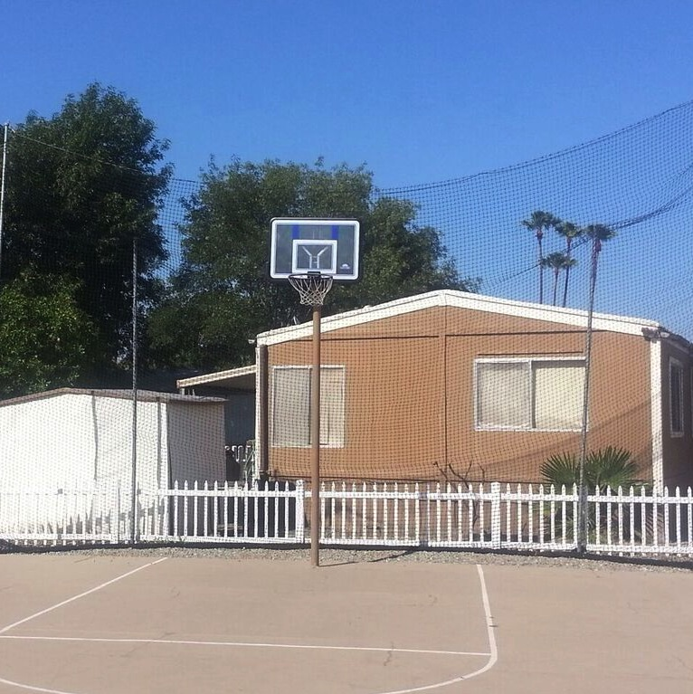Rancho Riverside Basketball Court