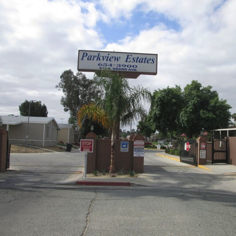 Parkview Estates Entrance