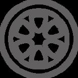 Grey Tyres Icon