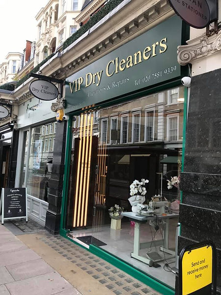VIP Dry Cleaners Shop Front