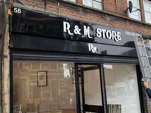 RM Shop Front