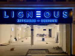 Ligneous Shop Signage