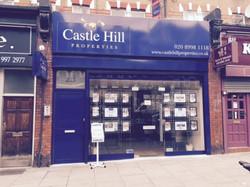 Castle Hill Shop Front