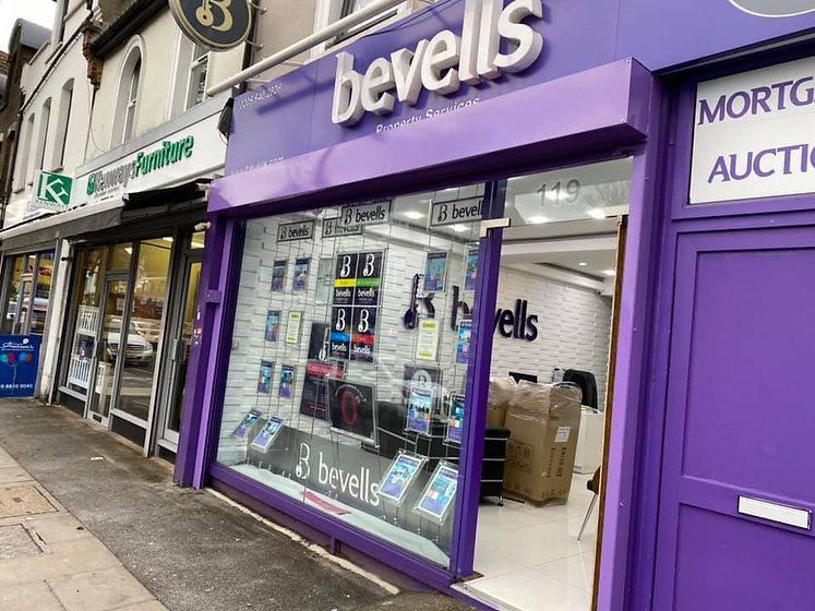 Bevells Shop Signage
