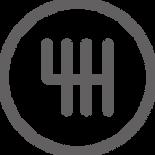 Grey Gear knob Icon