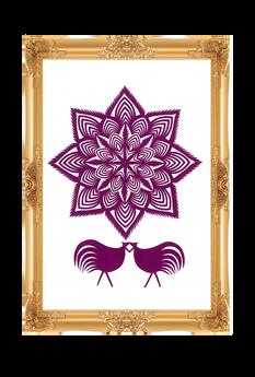 Forma: Gwiazda z kogutkami