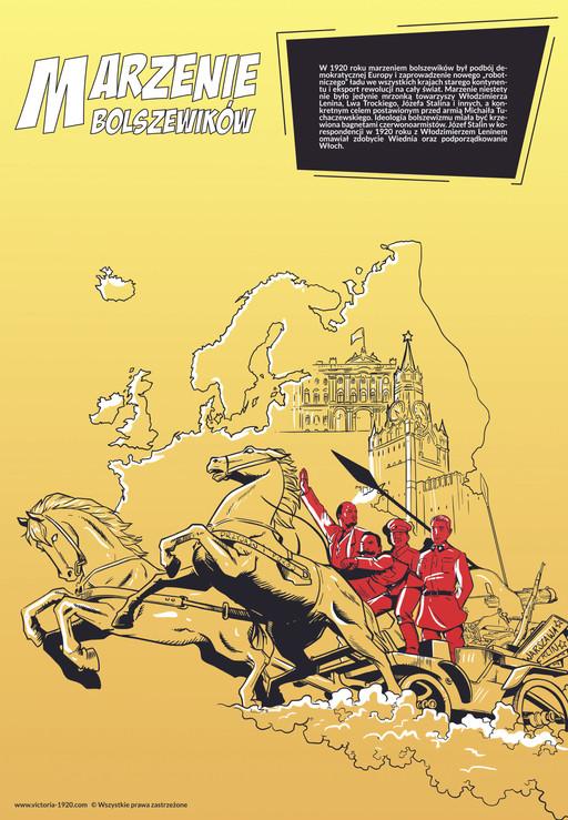 1920 Wojna Światów, plakat 2 z 16
