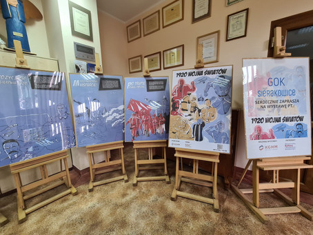 """""""1920 – wojna światów"""" wystawa plakatów"""