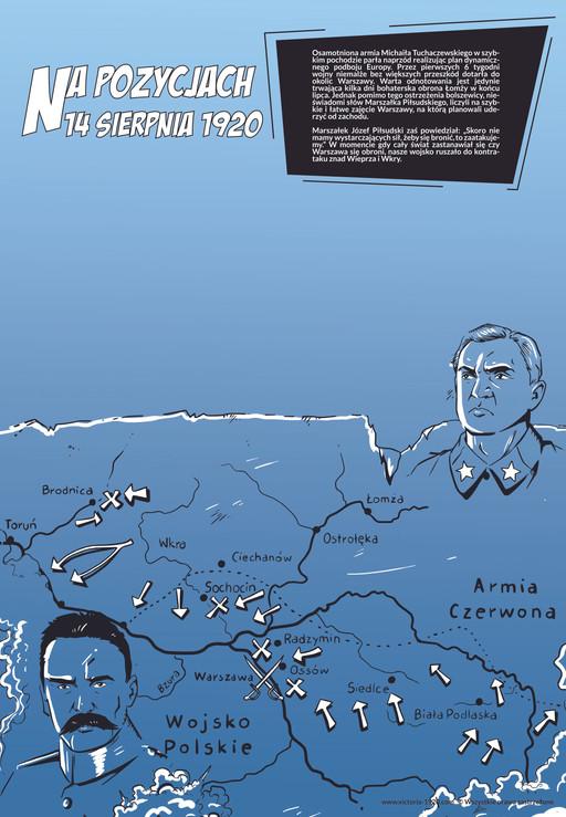 1920 Wojna Światów, plakat 7 z 16