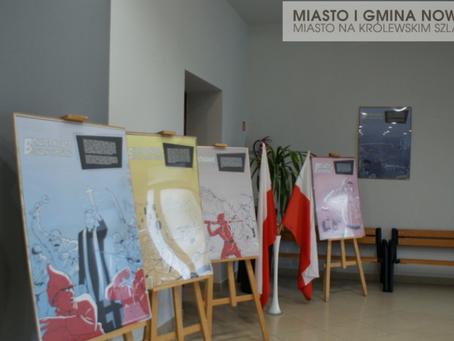 Niezwykła wystawa plakatu w Domu Kultury w Rudkach.