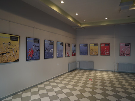 Wystawa w Strzeleckim Ośrodku Kultury.