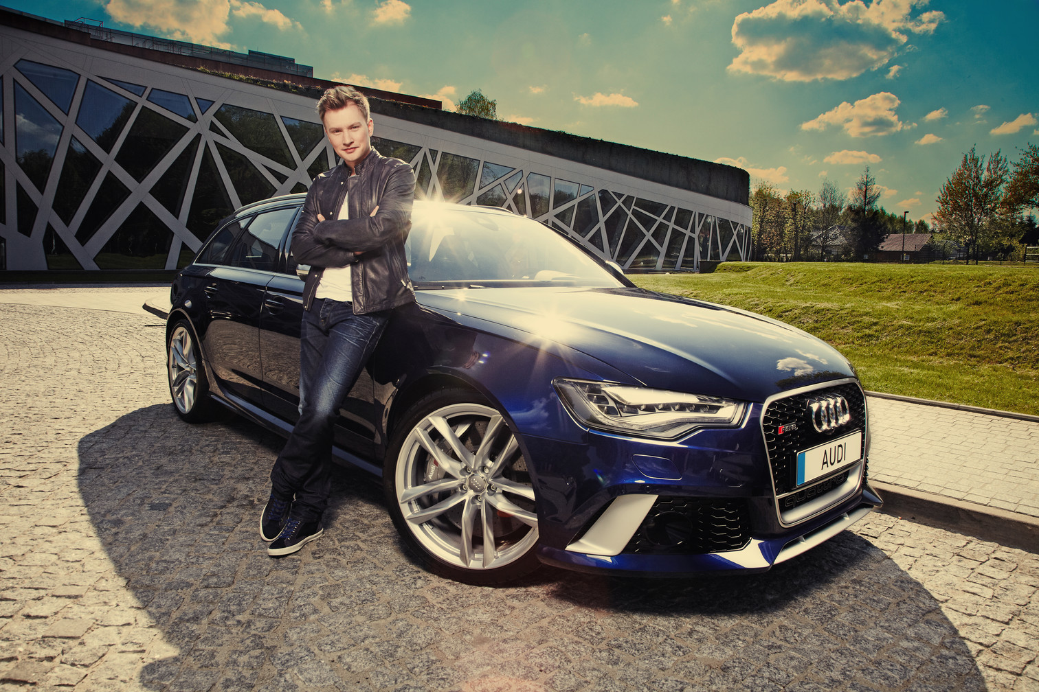 Autorski projekt marketingowy dla marki Audi