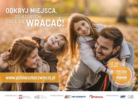 """Kampania """"Polska zobacz więcej - weekend za pół ceny"""""""