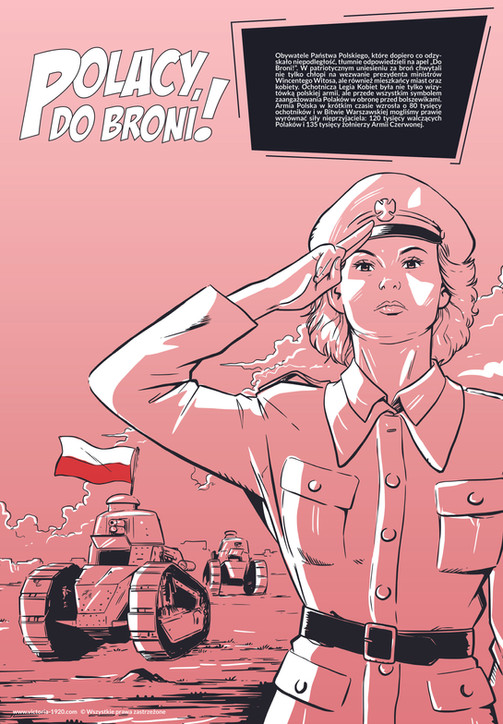 1920 Wojna Światów, plakat 4 z 16