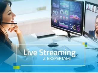 Live Streaming z Ekspertami