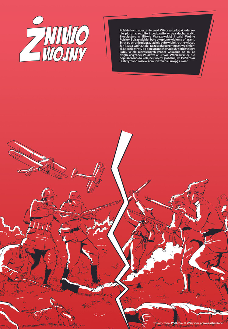 1920 Wojna Światów, plakat 11 z 16