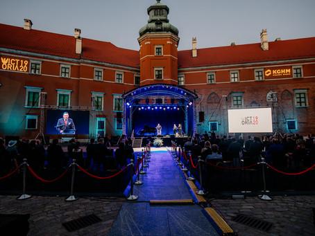 Koncert i widowisko poetyckie Victoria 1920 na Zamku Królewskim w Warszawie