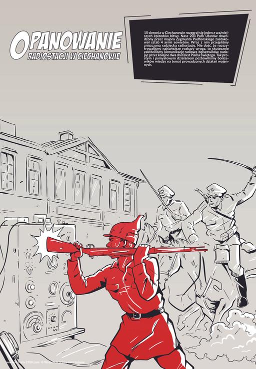 1920 Wojna Światów, plakat 9 z 16