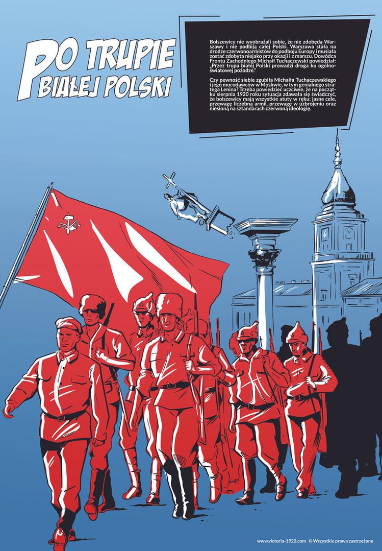 1920 Wojna Światów, plakat 3 z 16