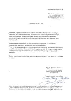Legic Kompania Importowa Dóbr Luksusowych sp. z o.o.