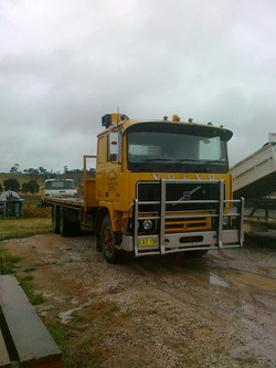 Volvo Flatbed Tipper