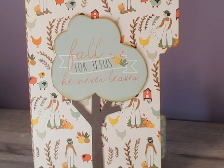 Fall Mini File Folder Album