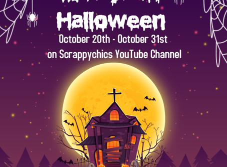 12 Days of Halloween with Scrappychics.com and Kiwi Lane