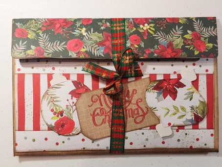 Christmas Large Envelope Folio