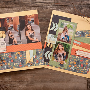 Family Scrapbooking Layouts
