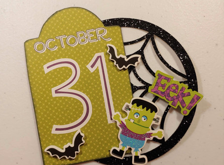 Day 9 of the 12 Days of Halloween Tombstone Embellishments