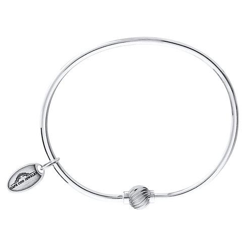 Single Twist Bead Bracelet