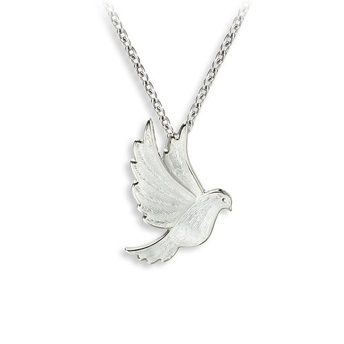 White Dove Pendant