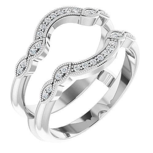 Vintage Style Diamond Insert
