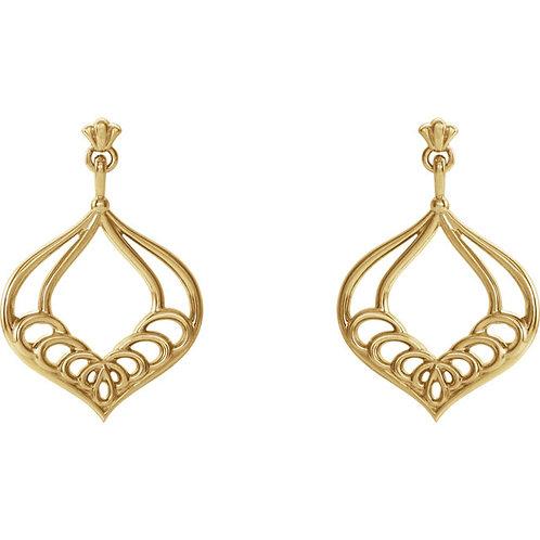 Vintage- Inspired Earrings