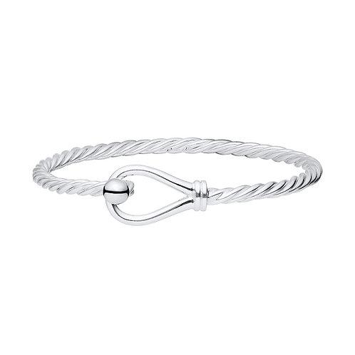 Loop and Twist Bracelet
