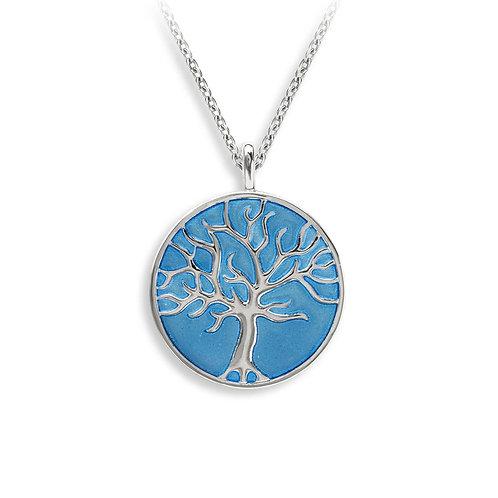 Blue Tree of Life Pendant