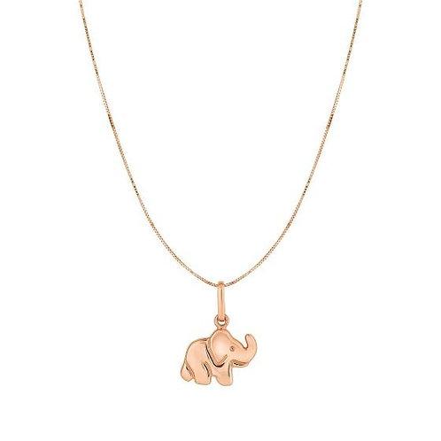 10k Elephant Pendant