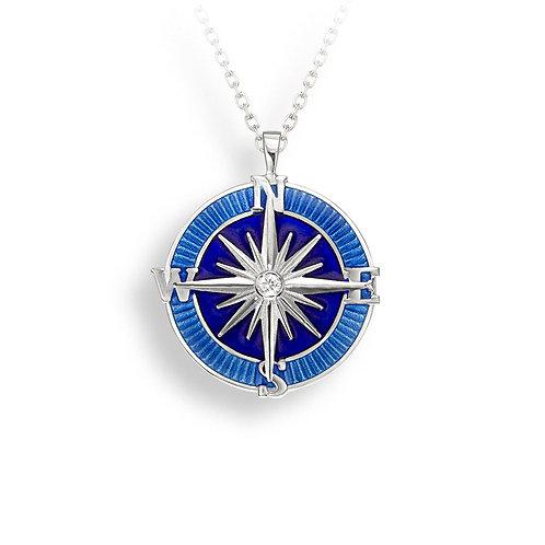 Compass Rose Pendant