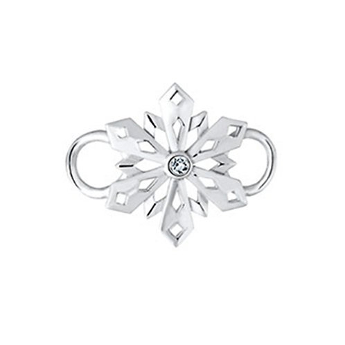 Pierced Snowflake Clasp
