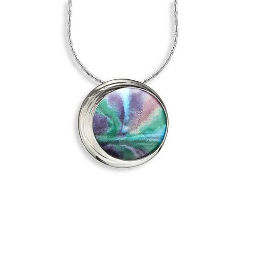 Aurora Circle Pendant