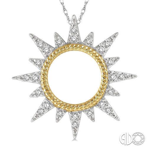 Diamond Sunrise Pendant