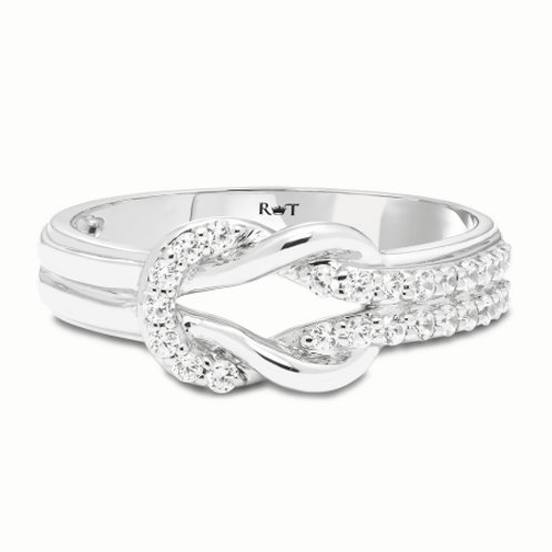 Tie the Knot Diamond Ring