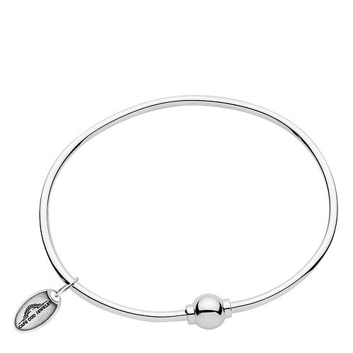 Classic Sterling Silver Single Bead