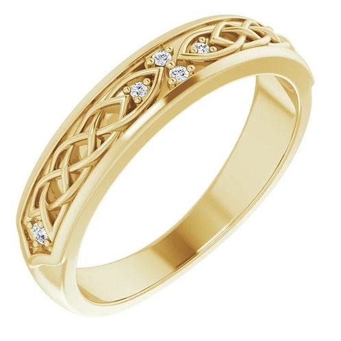 Celtic Diamond Band