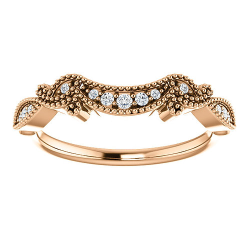 Vintage Inspired Contour Band