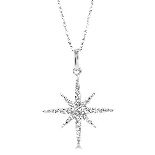 Diamond North Star Pendant