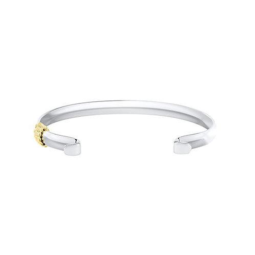 Narrow Bracelet With 14k Yellow