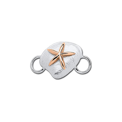 Clam Shell and Starfish Clasp