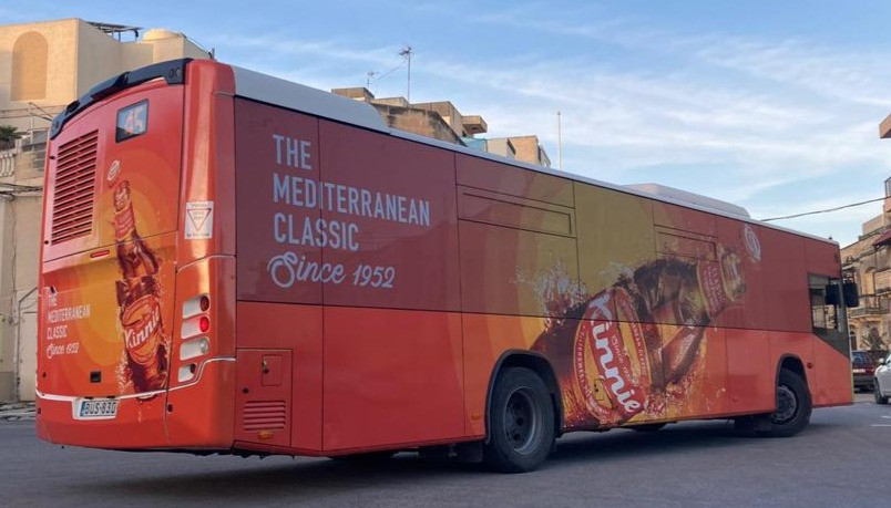 Full Bus Wrap