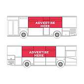 9104 MADS Vector Icons of Moving Ads Ad